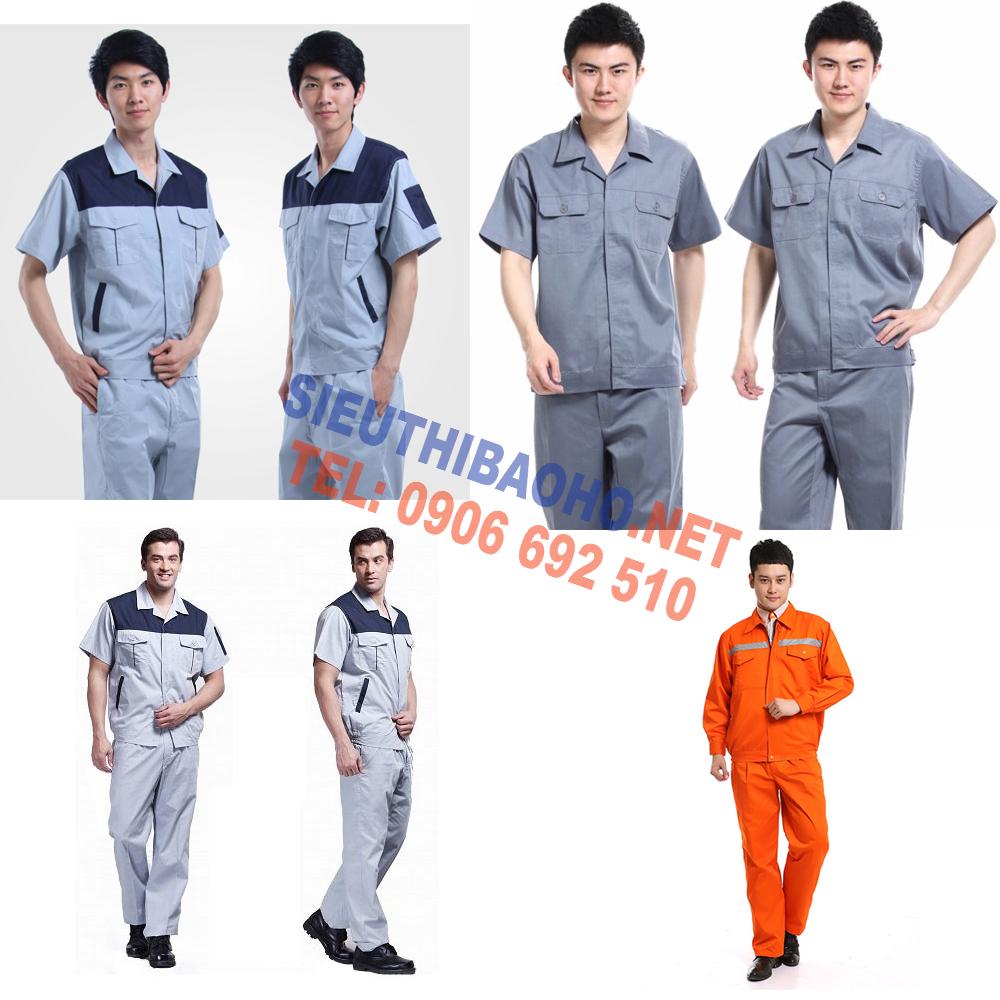 may quần áo công nhân, may quan ao cong nhan